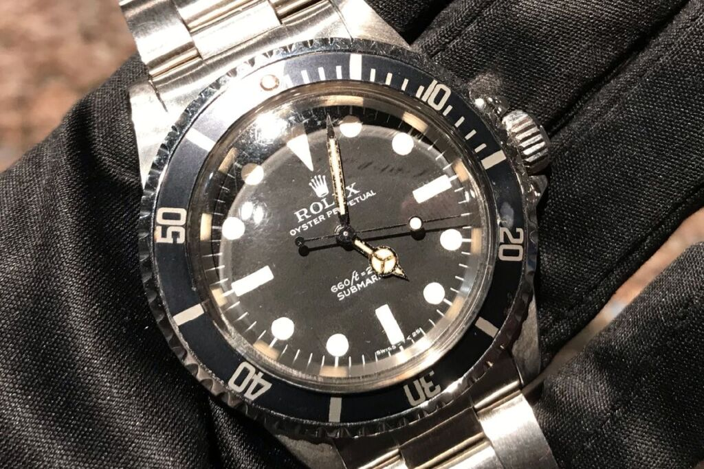 Submariner 5513 ComexDial