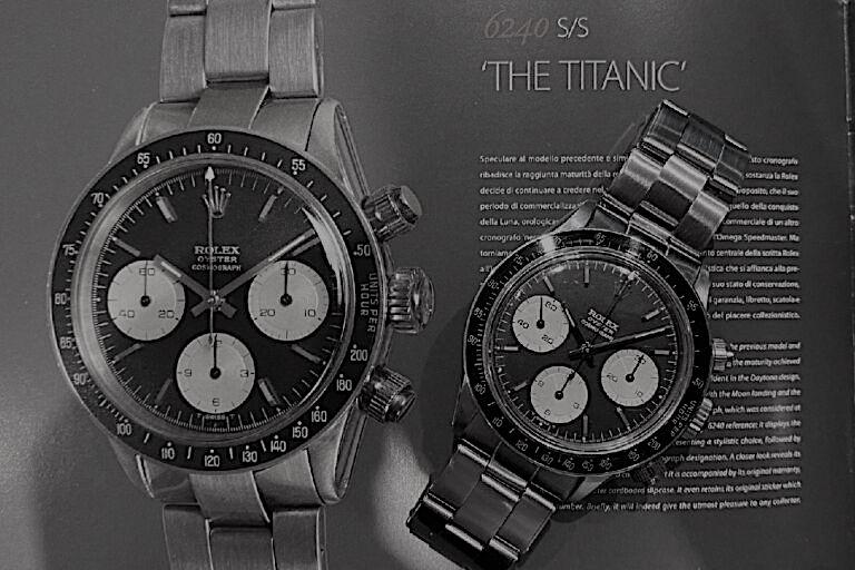 """Ref.6240 """"THE TITANIC"""""""