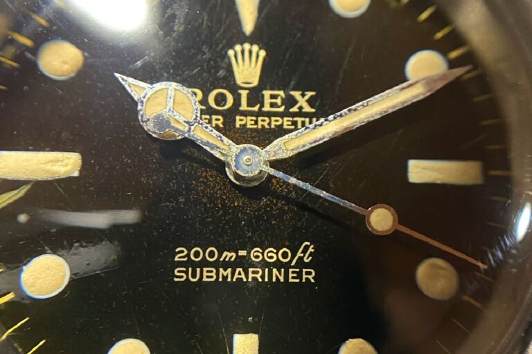 Old Submariner 5513 Gilt Dial