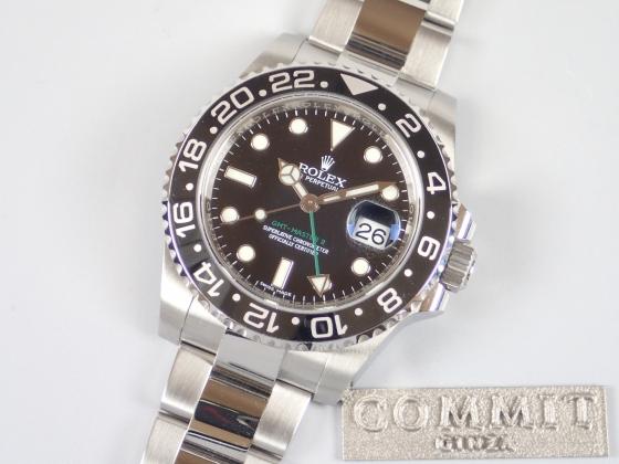 ロレックス GMTマスターⅡ 黒ベゼル ランダム