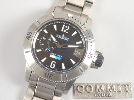 ジャガールクルト マスターコンプレッサー ダイビング GMT