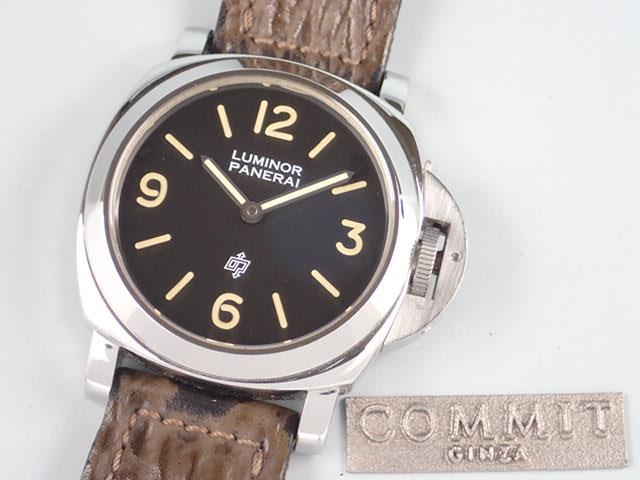 パネライ ルミノール ロゴ プレヴァンドーム