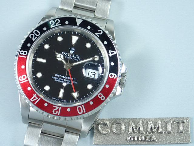 ロレックス GMTマスターⅡ 赤黒ベゼル S番