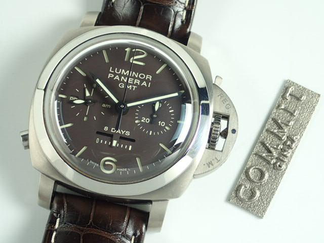 パネライ ルミノール1950 8デイズ クロノ モノプルサンテ GMT