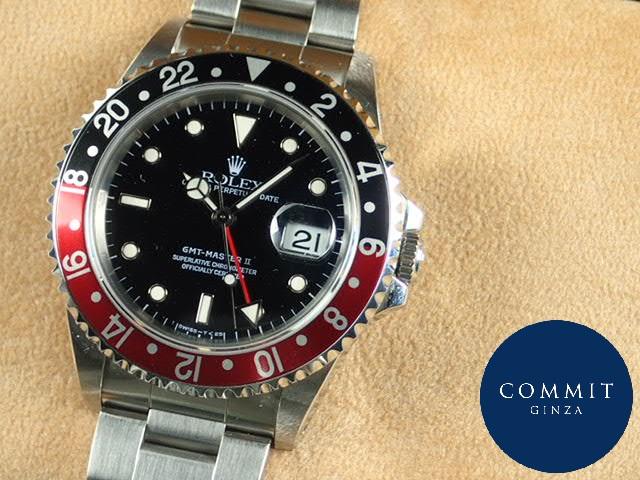 ロレックス GMTマスターⅡ 赤黒ベゼル T番