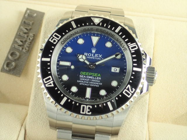ロレックス ディープシー Dブルー  Ref.126660