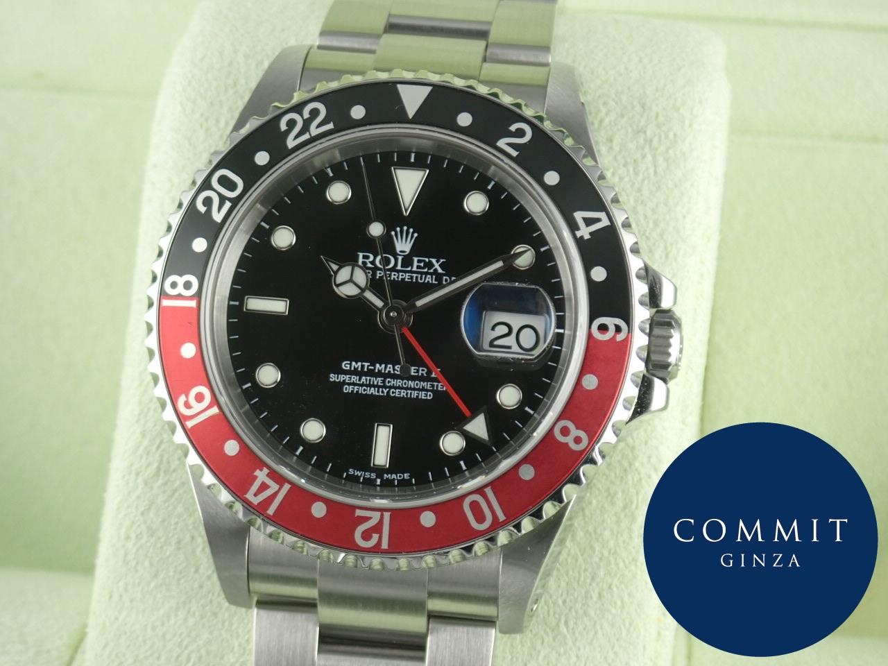 ロレックス GMTマスターⅡ 赤黒ベゼル Y番